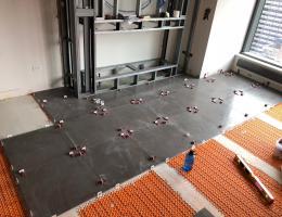 T-locks like these can help remodelers level floors easier
