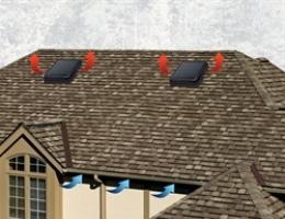 GAF Green Machine Roof Vent