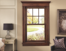 Integrity Wood-Ultrex Insert Double Hung Window