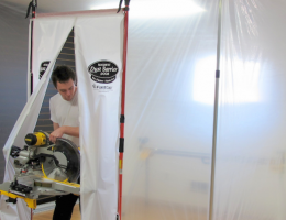 3rd Hand Magnetic Dust Barrier Door System from FastCap