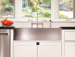 lenova deep apron front sink