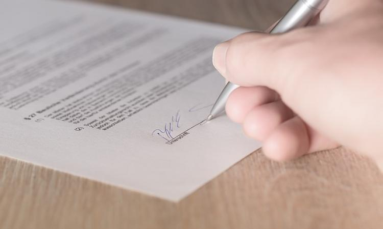how to write a contract agreement for payment