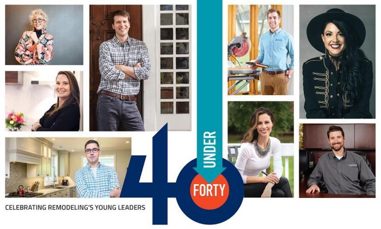 forty under 40 professional remodeler