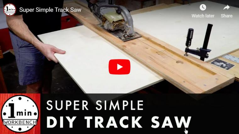 Plywood Track Saw Jig