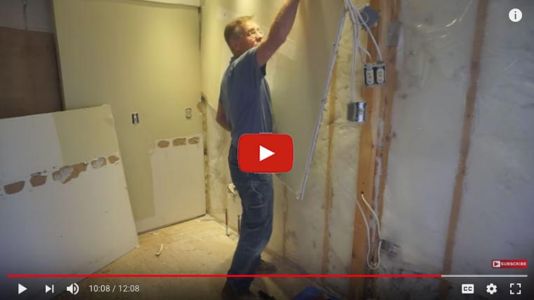 Jobsite Tip: Old Insulation and Hot Showers Don't Mix