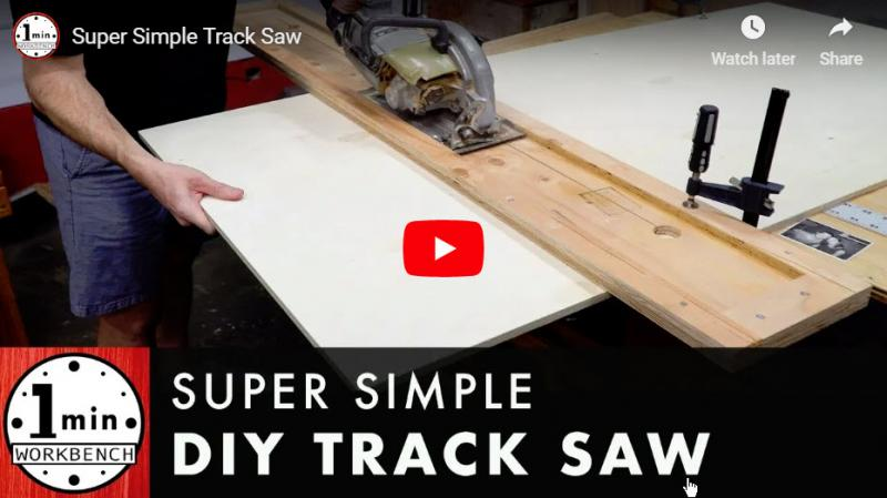 Plywood Track Saw Jig