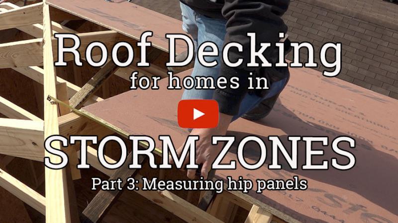 Decking a Roof (3): Measuring Hip Panels | ProTradeCraft