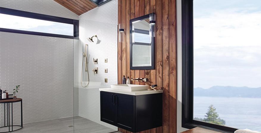 Delta Barrier Free Showers REFURB ROOM