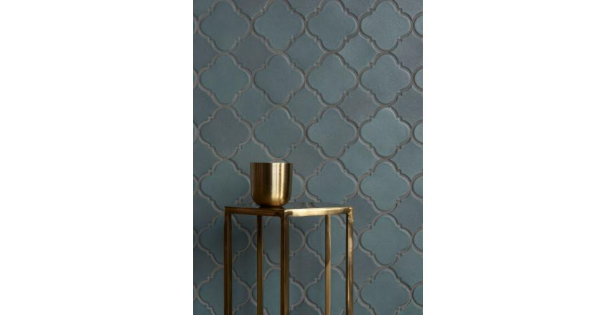 Stone and tile company Walker Zanger recently unveiled a new line of terra cotta tiles that draws inspiration from traditional Moorish architecture and Old Spanish ornamentation.