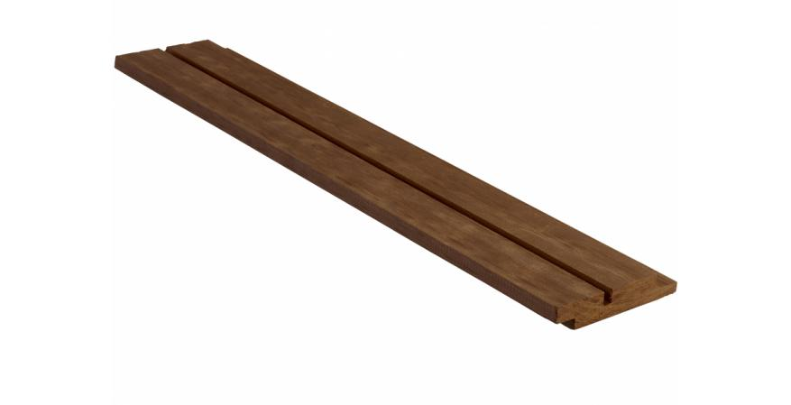 The Norwegian manufacturer of high-performance modified wood products has introduced a new clear-grain exterior product that can be used for exterior shiplap cladding, decking, and landscaping projects.
