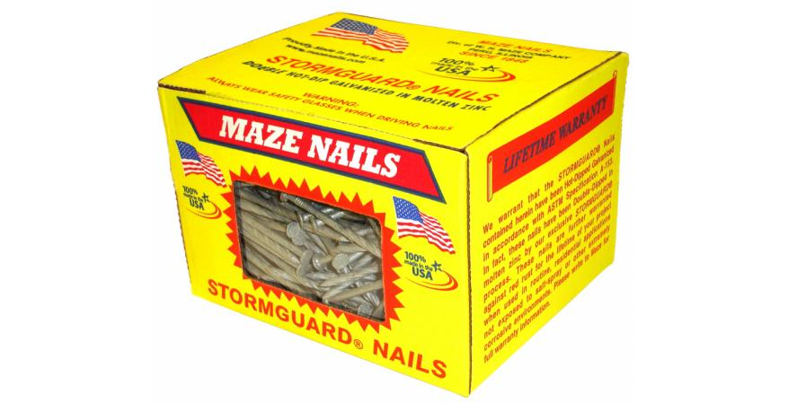Maze Nails Window Box Made in america