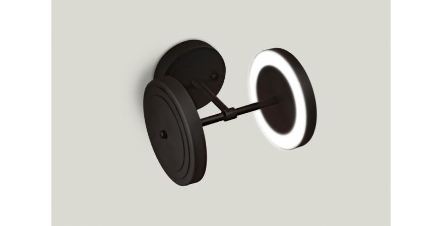 the Royer lighting Collection double light on the wall