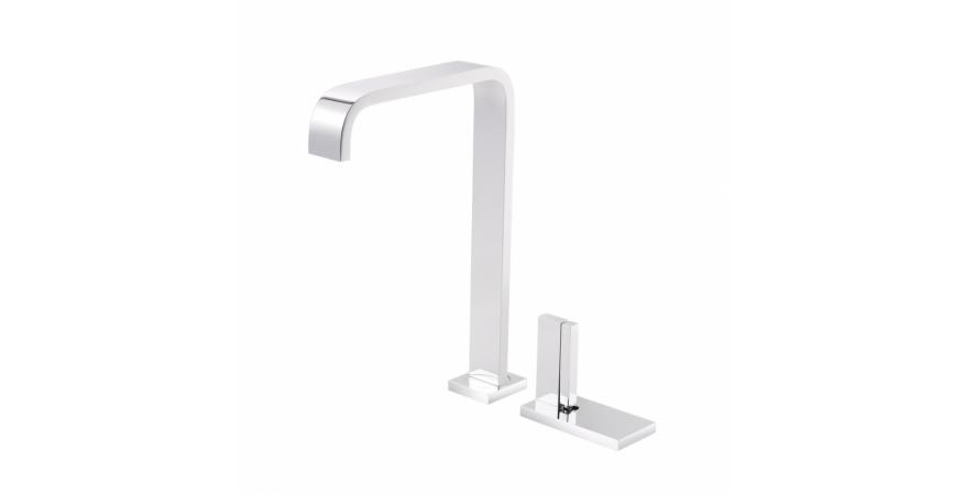 2-hole single-lever sink mixer in chrome