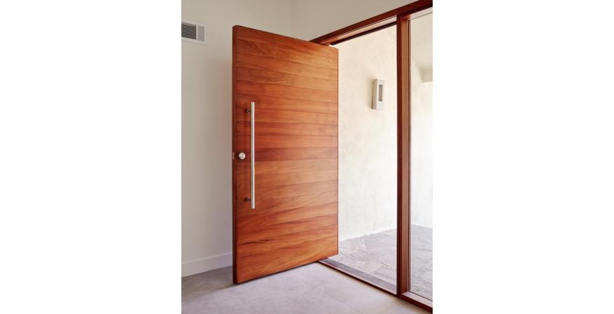 The Pivot Door Company pivoting door.
