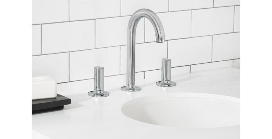 American Standard Studio S high spout faucet with knob handles