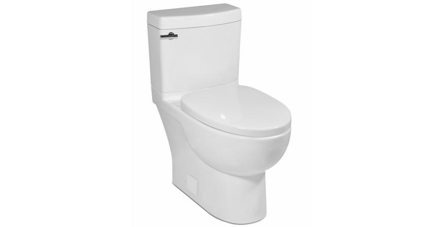 ICERA USA Malibu II low flow toilet for small bathroom 2 piece