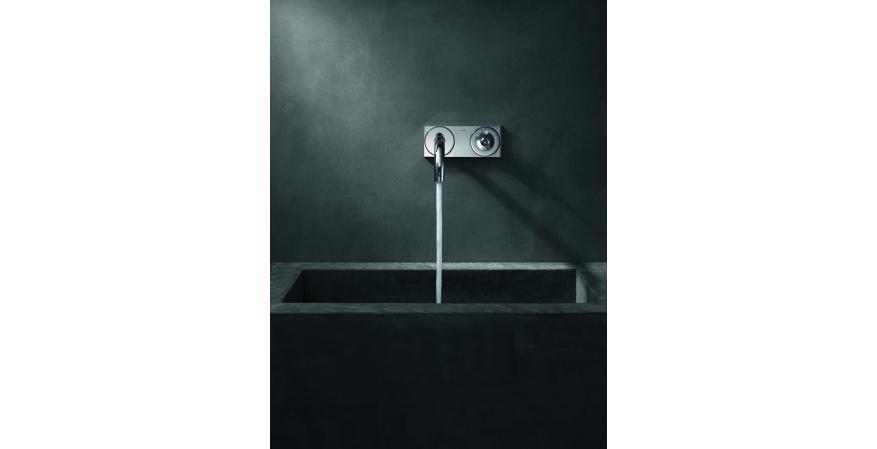 Axor uno wall-mounted faucet