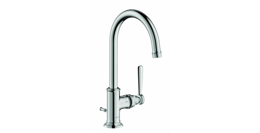 Known for ultra-modern faucets and fittings, German brand Hansgrohe has unveiled the new Montreux faucet that merges traditional design with modern details.