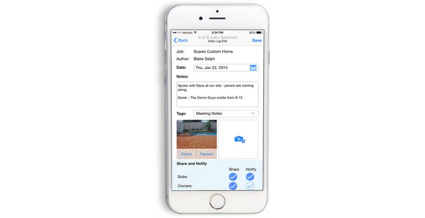 BuilderTrend app