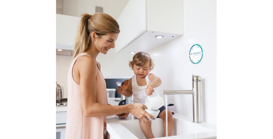CTI BlindSpotz heat loss sensor in kitchen