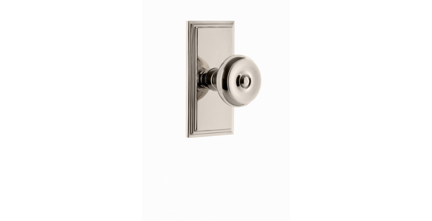 Carré Collection bouton door knob from Grandeur Hardware
