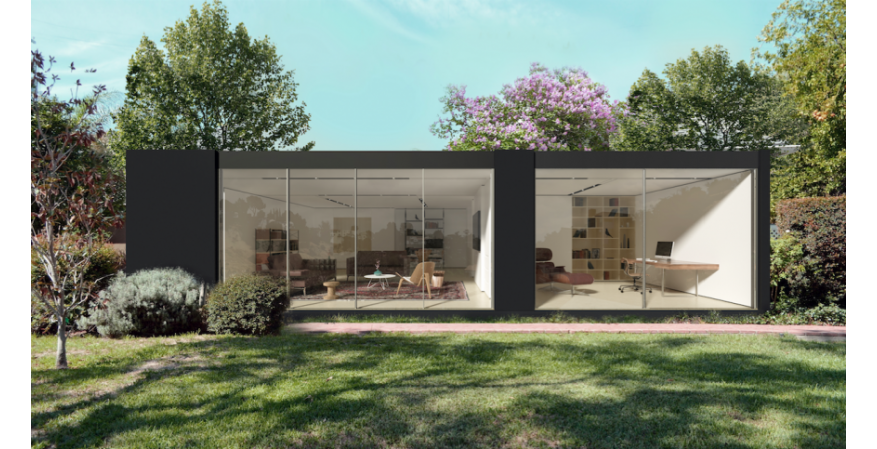 Cover prefab Studio and Office