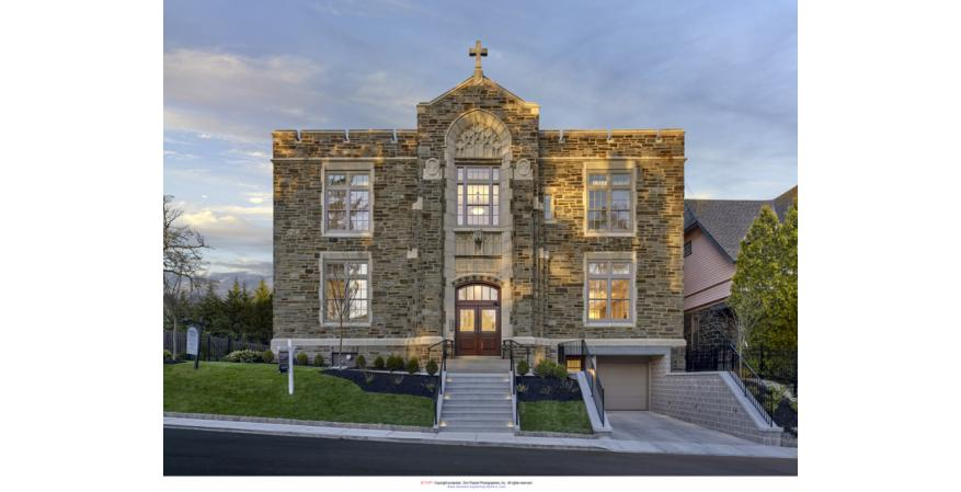 This project involved converting a Catholic grade school, built in 1925, to four residential condo flats with an underground garage. Integrity All Ultrex double hung windows recreate the style of window that was originally installed in the school. The windows fit perfectly with what was used in the old school as well as to match the current aesthetics of the Narberth, Pa., neighborhood.