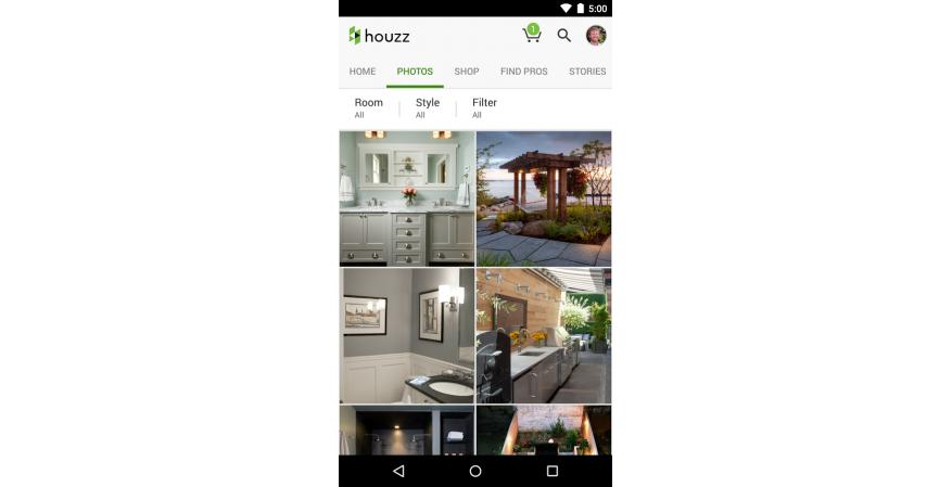 Houzz Interior Design Ideas app