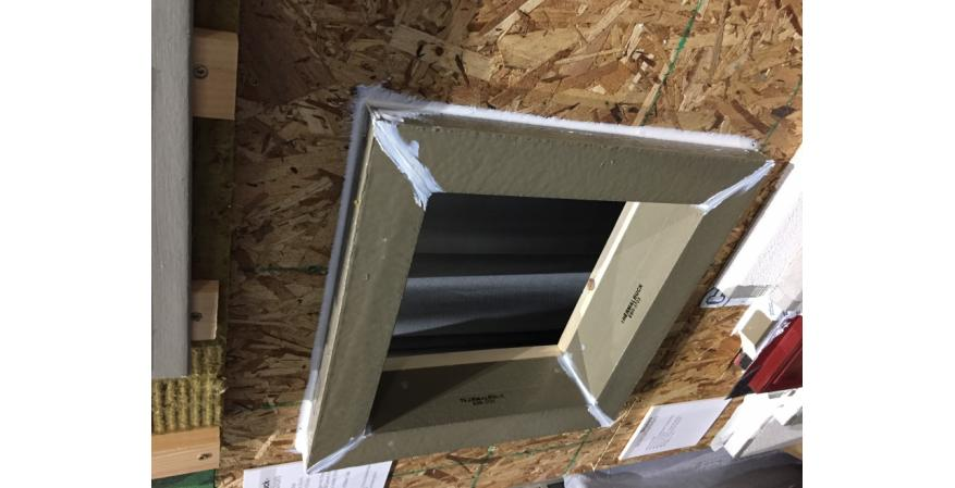 Designed for houses with exterior foam insulation, rainscreens, or brick siding, ThermalBuck extends the mounting point for windows and doors to create a flush plane for cladding and allows direct structural attachment of the window. The product is made from high-density EPS foam and comes in 8-foot lengths.