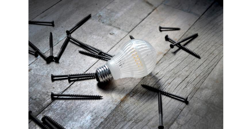 Lighting Science says its new Durabulb is line of shatter-resistant lamps that is designed to withstand bumps and drops without breaking into a million pieces.