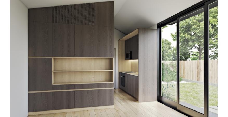 LivingHomes Accessory Dwelling Unit (ADU) interior