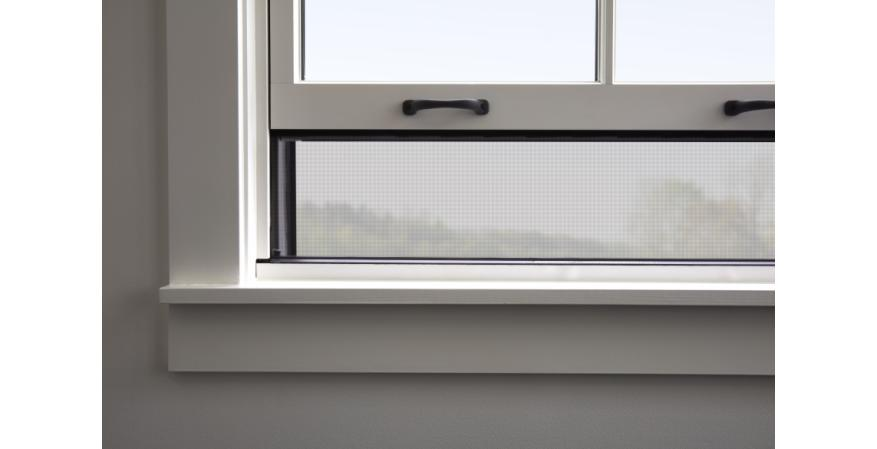 Pella Windows integrated rolling screen