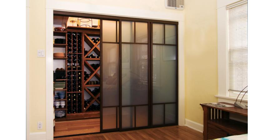 Top 8 Interior Doors For Homes - Residential Products Online  Panel Sliding Closet Doors Frosted Gl on