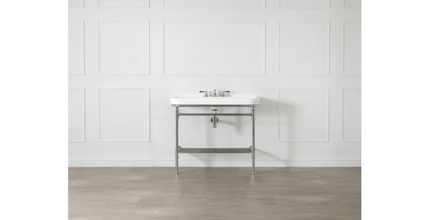 Victoria and Albert Metallo 100 washstand