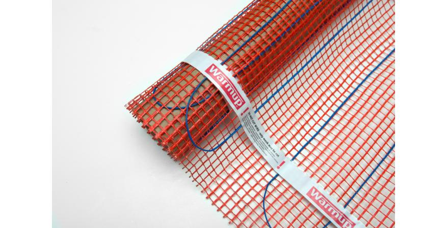 Warmup Stickymat Reduces Radiant Heat Installation Time
