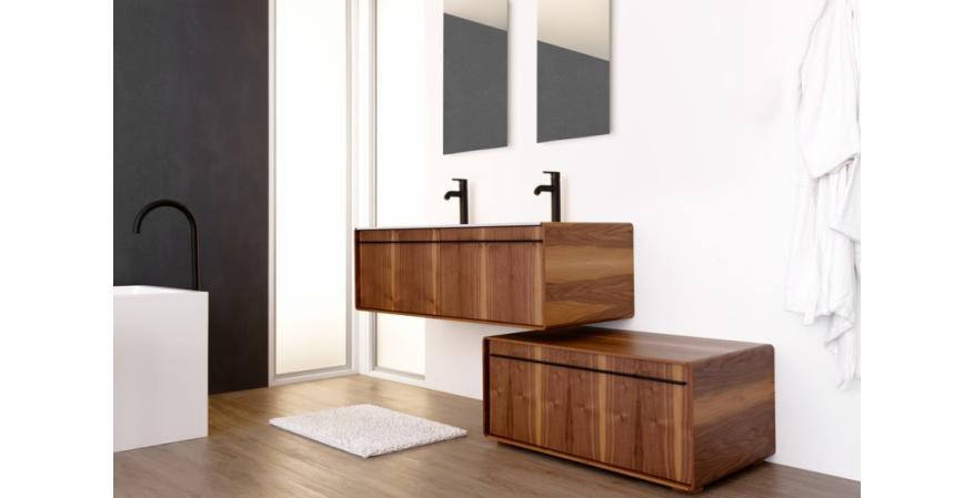 36-inch freestanding Deco vanity from Wetstyle