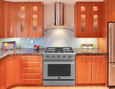 brama range in kitchen