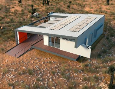 Team Vegas solar decathlon home