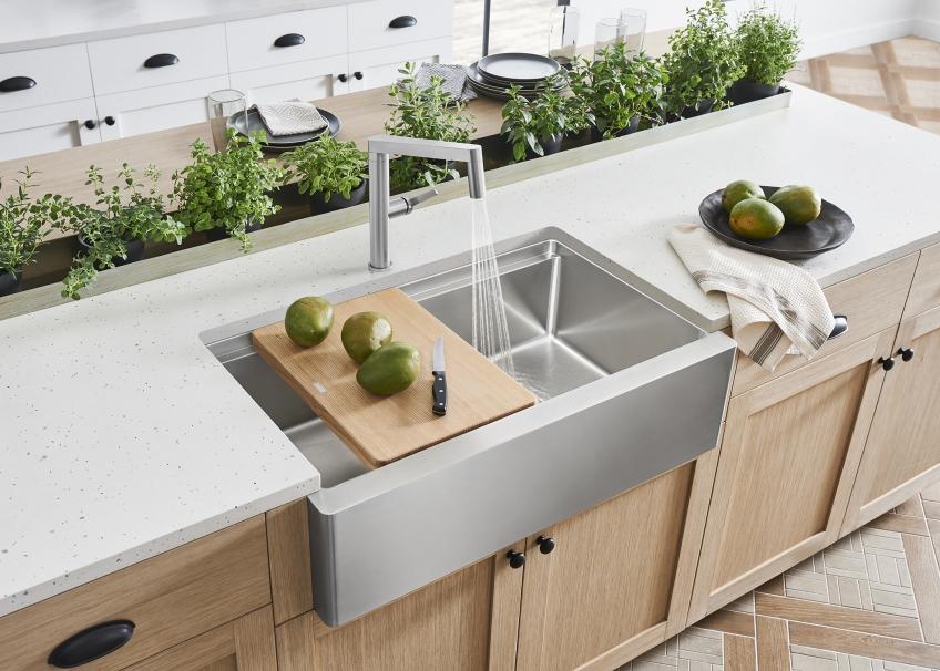 Blanco Unveils Contemporary Style Farmhouse Sink Products