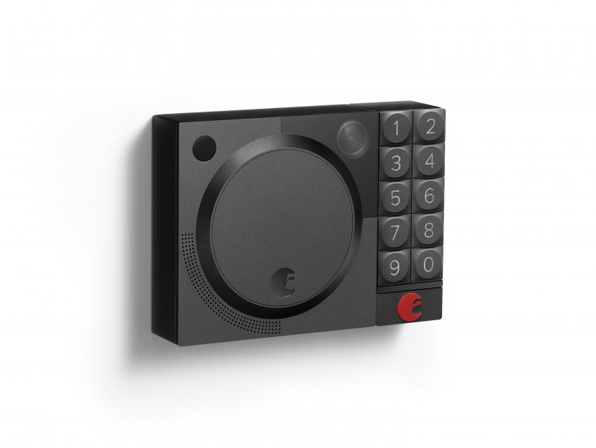 The Wi-Fi-enabled Doorbell Cam features a high-definition video camera and two-way audio, allowing homeowners to see and speak with visitors. Using a smartphone, homeowners can receive instant notifications when motion is detected or buzz in visitors via the company's Smart Lock.