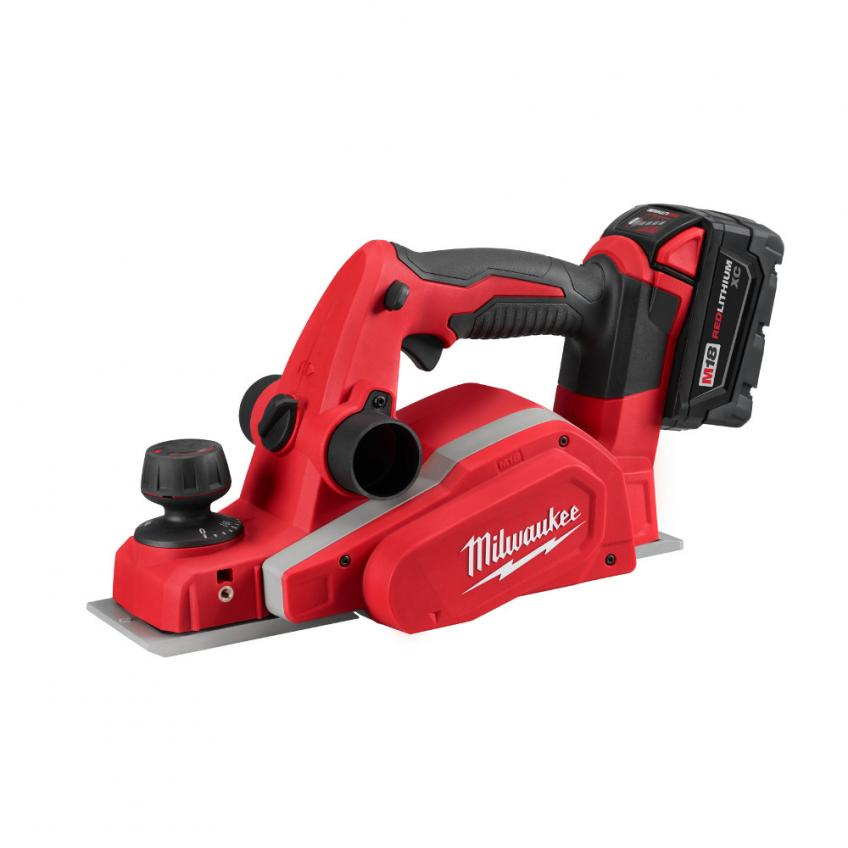 As part of its M18 cordless platform, Milwaukee Tool Co. has added a 3¼-inch planer with a dual-blade design and a motor that delivers up to 14,000 revolutions per minute.