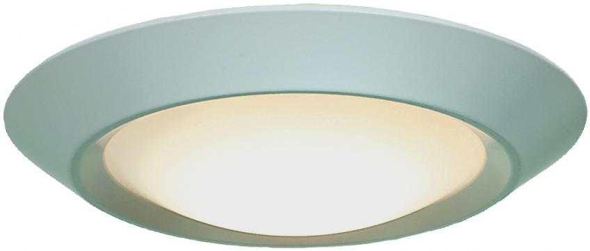 The manufacturer has added two Energy Star-rated mini flush-mount/retrofit lights to its lineup: the 20782LED and 20783LED. Both feature 120 volts, 3,000K, 80 color rendering index, and 1-inch-deep design, but the 20782LED offers 7 watts and 460 lumens with a 5.5-inch diameter, while the 20783LED is 11.5 watts and 740 lumens with a 7.25 diameter.