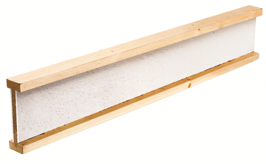 """LP Building Products has a FlameBlock I-joist that gives builders a new option to satisfy the latest """"Fire Protection of Floors"""" section of the 2012 International Residential Code (R501.3)."""