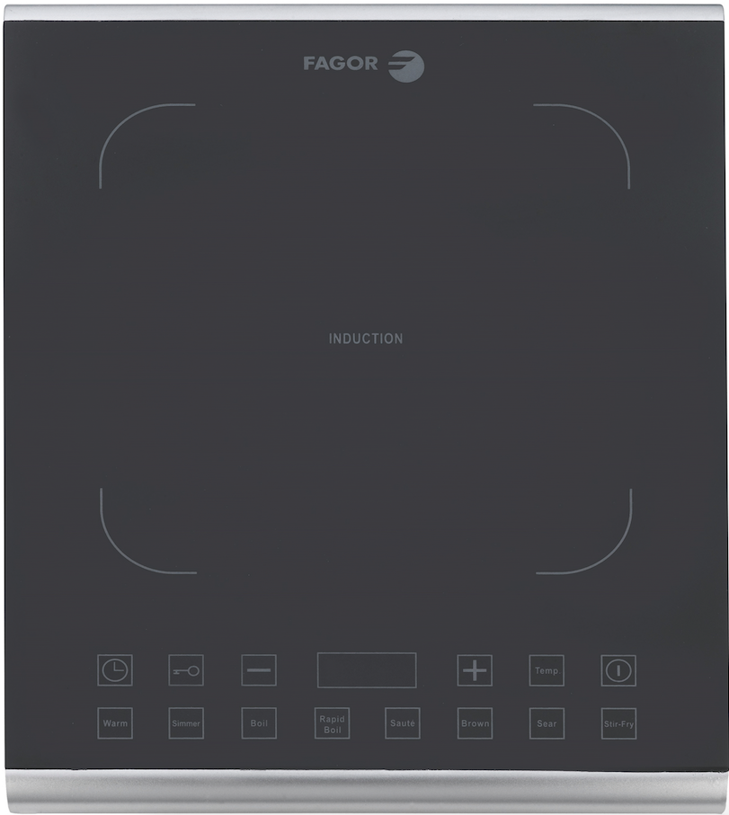 The manufacturer has added the Induction Pro to its portable induction line. The 1,800-watt cooktop has the advantage of using 90 percent of the energy it produces while providing instant heat and cooking up to 50 percent faster than gas or electric. Equipped with eight quick-launch temperature settings, it features a button that can be pressed to show the current temperature on a digital display. Moreover, the temperature can be adjusted by 10-degree increments from 140°F to 465°F.