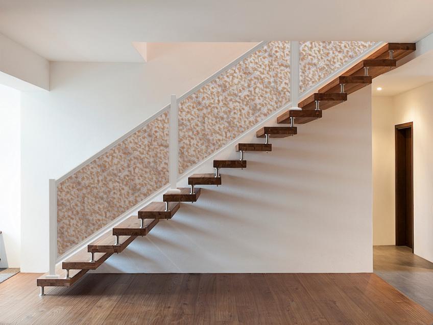 Feeney DesignRail Panel Infill Ginkgo Thatch pattern