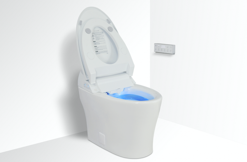 Icera Introduces Iwash Integrated Bidet Smart Toilet