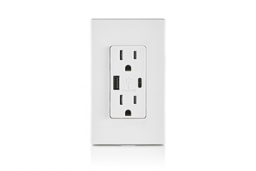 Leviton Introduces Outlet With Type A, Type-C USB Chargers | PRODUCTS