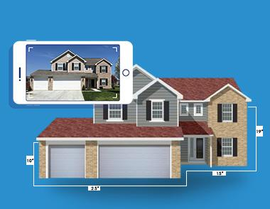The HOVER Platform transforms smartphone photos of a home into a fully measured, customizable 3D model so contractors can save time, gain a competitive edge and win more business.