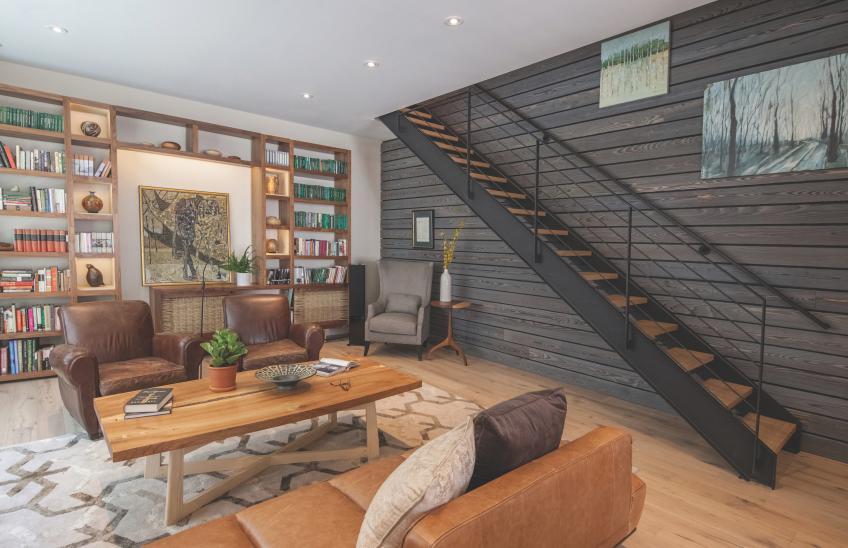 Shackamaxon House by Shila Griffith, ReSAWN Timber