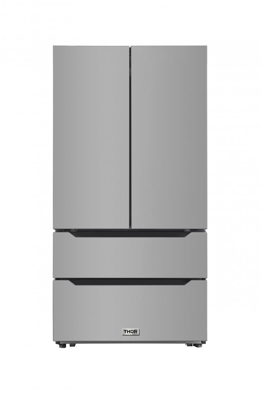 Thor Kitchen Recessed handle French door refrigerator